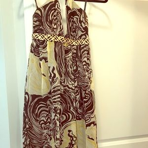 Laundry by Shelli Segal right to the knee dress